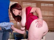 Heather's Ass Meets Subrigid Cock