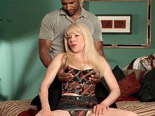Desperate, black-cock loving housewife