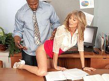 Jessica violates the suit code, H.R. smooth operator violates Jessica