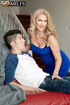 Lacy's future son-in-law copulates her constricted ass