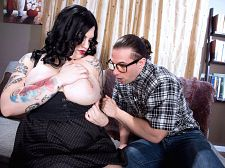 Nerd trainer gets dream bra-buster