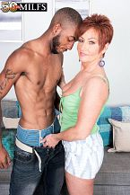 Young, black wang for MILF Ruby O'Connor